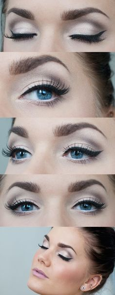 Make your eyes pop by winging it - works with every makeup from semi-casual to extra glam looks