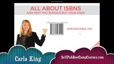 All About ISBNs for Self-Publishers and Consultants Your Freedom, Self Publishing, Replay, Author, This Or That Questions, Live, Books, Livros, Writers