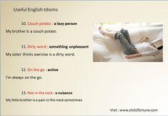Useful English Idioms 4