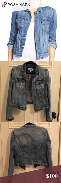 Paige Rowan Denim Jacket LIKE NEW - denim acket on sale now at Nordstrom for $199 - great for spring Paige Jeans Jackets & Coats Jean Jackets