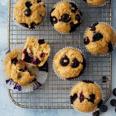 Whole Wheat Blueberry Muffins Easy Diabetic Meals, Diabetic Friendly, Diabetic Recipes, Diabetic Muffins, Diabetic Desserts, Healthy Blueberry Recipes, Healthy Recipes For Diabetics, Blueberry Desserts, Fruit Recipes
