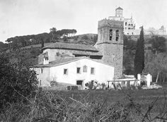 Santa Maria de Vallvidrera, a principis del segle XX.