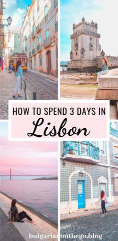 3 Days in Lisbon, Portugal - The Perfect Itinerary How to spend 3 days in Lisbon - the perfect itinerary. What to see and things to do in Lisbon, Portugal. Adjustable to either 3 or 4 days in Lisbon. Portugal Travel Guide, Europe Travel Guide, Travel Guides, Portugal Trip, Italy Travel, Visit Portugal, Spain And Portugal, Algarve, Tours