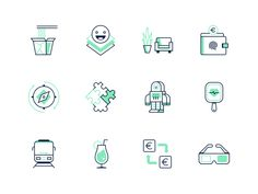 Category Icons by Rocco Barbaro - Dribbble