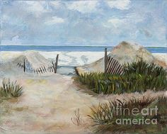 Beaches of Amelia Island by Marilyn Nolan-Johnson by Marilyn Nolan-Johnson