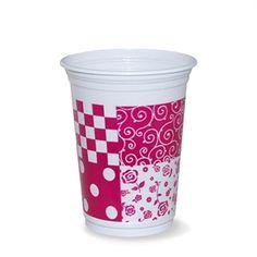 Copo Patchwork Pink 200ml http://www.tozaki.com.br/produto/5009/copo+patchwork+pink+200ml++08un