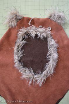 the Original Wicket inspired Ewok Hood by iFiCantFINDaReindeer