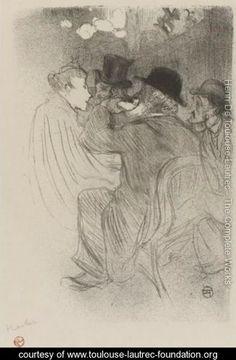 Au Moulin Rouge, Un Rude - Henri De Toulouse-Lautrec - www.toulouse-lautrec-foundation.org