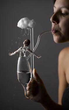 Carmen Lozar , 'Shower' - Things that move