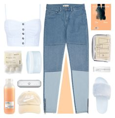 """""""we ain't going home, we wanna hang out"""" by enchantedmist ❤ liked on Polyvore featuring Steve Madden, Davines, Muji, NARS Cosmetics, Aveda and Reiss"""