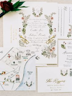This New Orleans Wedding at The Chicory is an Ultra Stylish Floral Explosion Wedding Blog, Diy Wedding, Wedding Events, Handmade Wedding, Wedding Shoes, Rustic Wedding, Vintage Wedding Invitations, Wedding Stationary, Wedding Paper