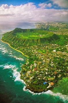 Diamond Head, Hawaii #paradise #explore #adventure #tropical
