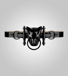 Due to the efforts of the main Givenchy designer Riccardo Tisci the image created is elegant, confident and sophisticated. Ready to Wear and Pre Collection consist of charming and magnificent adornments which are of the finest materials. Givenchy house is always on the peak of fashion following its own style and traditions. Black lacquered metal single-head belt with chain by Givenchy