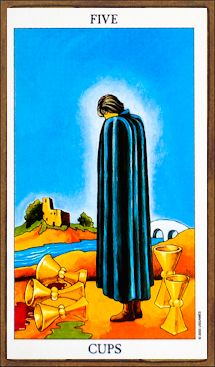 Five of Cups - Tarot Card Meaning & Interpretation