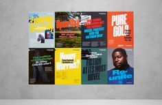 Brand identity and posters for Goldsmiths, University of London by UK based graphic design studio Spy Poster Layout, Poster S, Visual Identity, Brand Identity, Identity Design, Goldsmiths University Of London, London Spy, London 2016, Brochure Design Inspiration