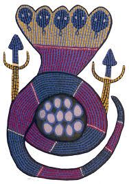 Gond art - Hooded cobra