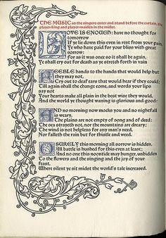 William Morris: Poem
