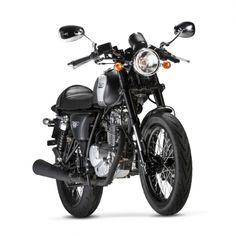MASH CAFE RACER 125 cc black