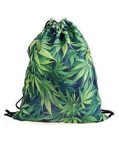 Weed Drawstring Bag