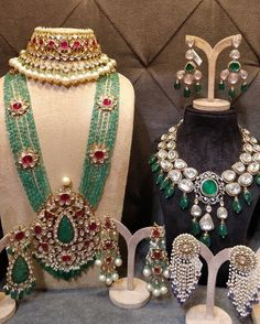Live at Bridal Asia! Bridal Asia unravels it's Delhi Edition ! Bridal Asia (Delhi) Dates Indian Jewelry Sets, Indian Wedding Jewelry, Royal Jewelry, India Jewelry, Gems Jewelry, Beaded Jewelry, Silver Jewelry, Bridal Jewellery, Indian Bridal