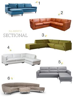 Our Hunt For The Perfect Sectional Round Sectional, White Sectional, Sectional Sofa, Living Room Sofa Design, Living Room Designs, Living Room Decor, Sofa Set Designs, Beautiful Sofas, Curved Sofa