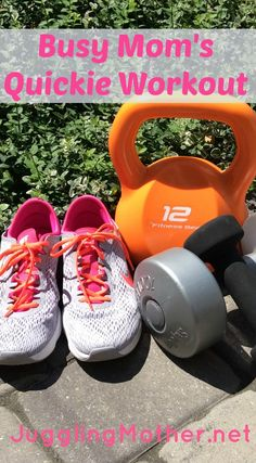 Busy Mom's Quickie Workout – how to fit exercise into your day