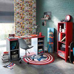 photos d coration de chambre d 39 ado fille international gris rouge de myd co coach home sweet. Black Bedroom Furniture Sets. Home Design Ideas