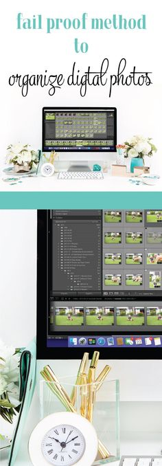 Want to organize your digital photos? Here's a no fail system for organizing digital photos.