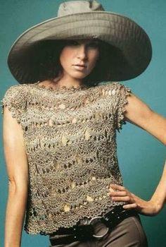 Ivelise Feito à Mão: Blusa Linda E Fácil