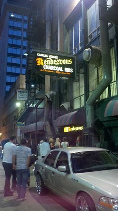 ~the rendezvous,<3<3<3`~ my FAV dry rub ribs are found in a downtown alley in Memphis!!!