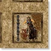 Dusty Trails- This is another great cowboy line with a free project sheet!