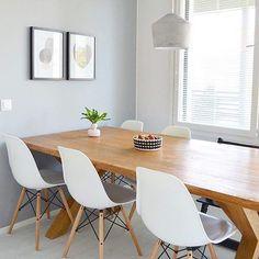 Scandinavian dining room - Concrete corner - Syrjälä