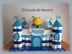 El rincón de Manora: Castillo de pañales para niño