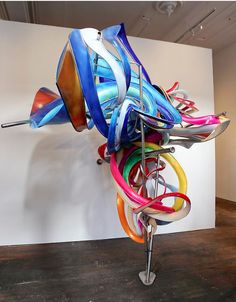 Frank Stella (born May is an American painter and printmaker, noted for his work in the areas of minimalism and post-painterly abstraction. Stella lives and works in New York. Abstract Sculpture, Sculpture Art, Sculpture Garden, Abstract Art, Contemporary Sculpture, Contemporary Art, Frank Stella Art, Post Painterly Abstraction, Ecole Art