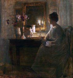 Carl Holsoe. Danish (1863 - 1935 )
