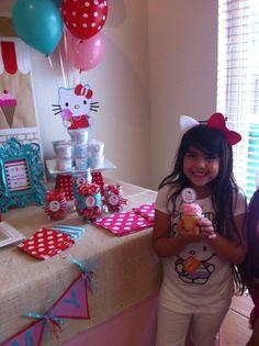 Hello Kitty Ice Cream Party | CatchMyParty.com