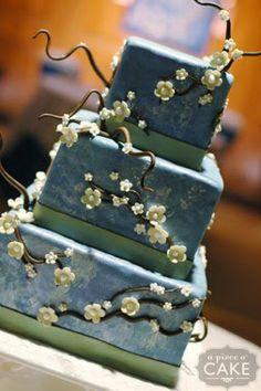 Van Gogh wedding cake