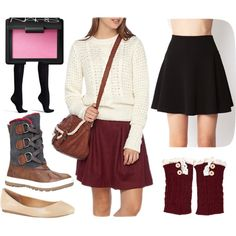 """Snow Flake"" by amelie-trudel on Polyvore"