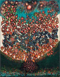 L'Arbre de vie. Oil on canvas (114×145cm), 1928. Musée d'Art et d'Archéologie de Senlis, France. © Musée d'Art et d'Archéologie de Senlis; Christian Schryve, Compiègne. Servier | Art and Psychosis | Medicographia