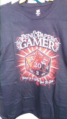 Possibly the geekiest shirt we sell...