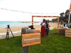 TBEX Welcome Reception, party in the beach. Lloret de Mar, Costa Brava, Spain.