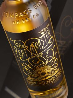 The Peat Monster, label design courtesy of Stranger & Stranger