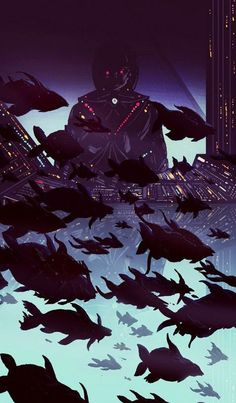 Kilian Eng was born 1982 in Stockholm, Sweden. He graduated in 2010 from Konstfack, University of Arts Craft & Design in Stockholm with a bachelor and master in Illustration and storytelling. Art And Illustration, Illustrations Posters, Kilian Eng, Neon Noir, 70s Sci Fi Art, New Retro Wave, Futuristic Art, Retro Futurism, Cool Posters