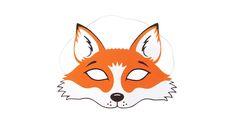 Fuchs-Maske zum Ausdrucken - Bastelanleitung bei Makerist.de
