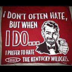 I don't  often hate...