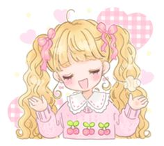 Happy Fancy Girls! - Manamoko Stickers