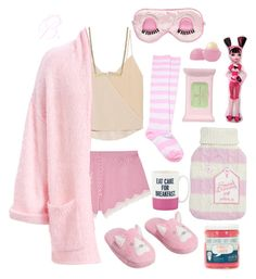 """""""B. Outfit #6 ddlg"""" by brokenbabydolly ❤ liked on Polyvore featuring Cosabella, Chelsea Flower, Kate Spade, Pixi, Lily Nily and Eos"""