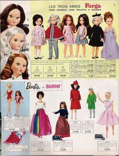 La Barbie en manteau rouge...