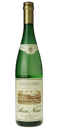 We like to drink Vinho Verde while we wait for the sushi to arrive!
