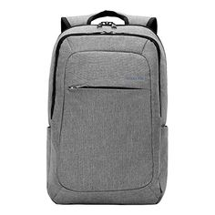 ccdcd71669 Kopack Slim Business Laptop Backpacks Anti thief Tear   water Resistant  Travel Bag fits up to 15 Inch Macbook Computer Backpack in Gray